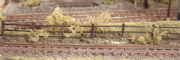 217 Ratio: TRACKSIDE ACCESSORIES  Lineside Fencing, wood brown